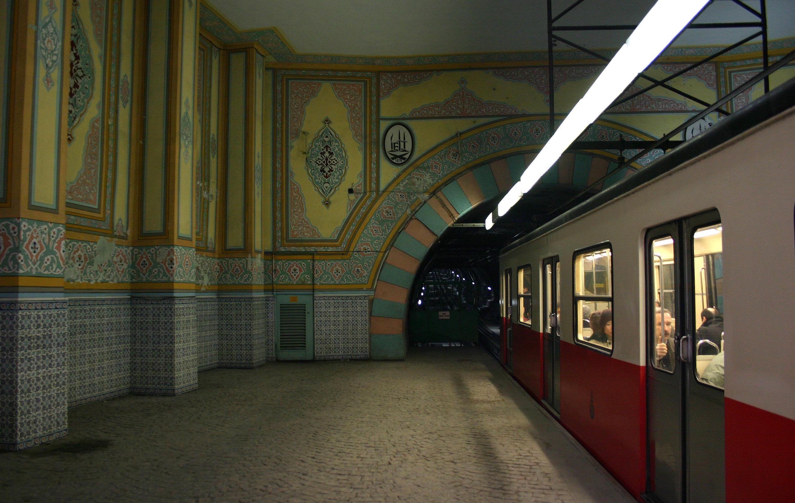 تونل استانبول ، تونل شهری استانبول ، متروی استانبول