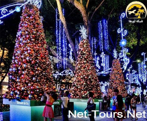 تور سنگاپور کریسمس ۲۰۱۸ | تور کریسمس