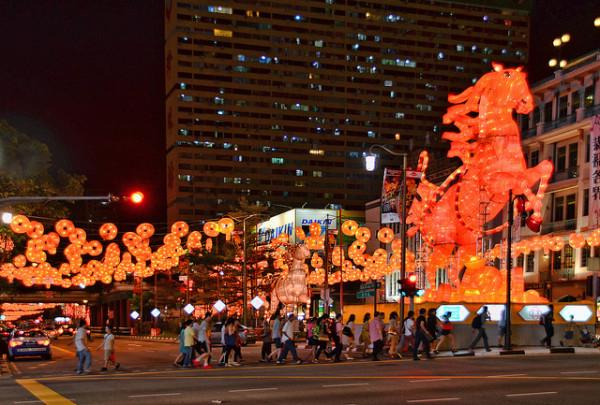 محله چینی های سنگاپور