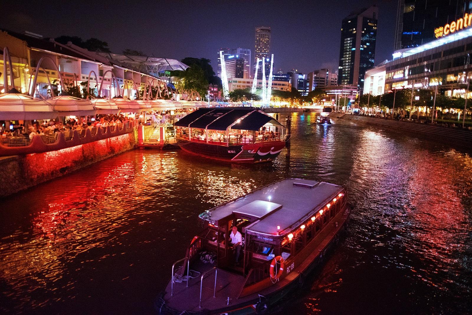 مرکز جشن های سنگاپور CLARKE QUAY