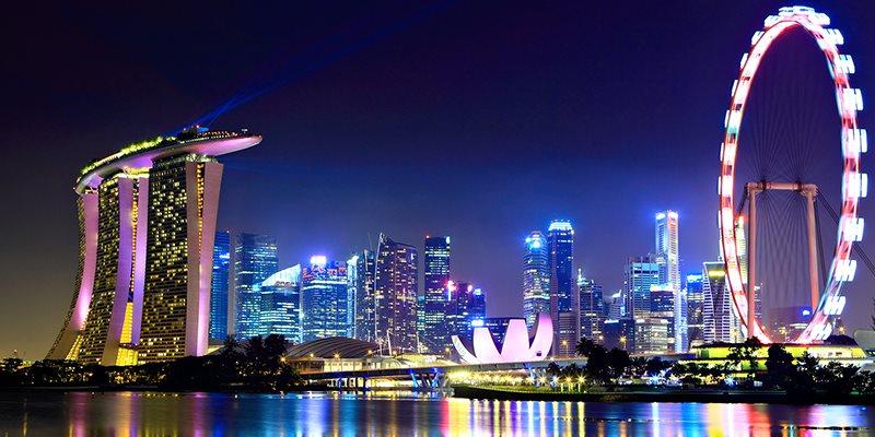 چرخ و فلک بزرگ سنگاپور | تور ارزان سنگاپور