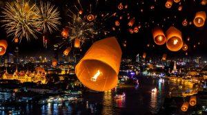 تعطیلات رسمی در تایلند | قیمت تور تایلند | تور تایلند | جشن آب تایلند | کریسمس تایلند