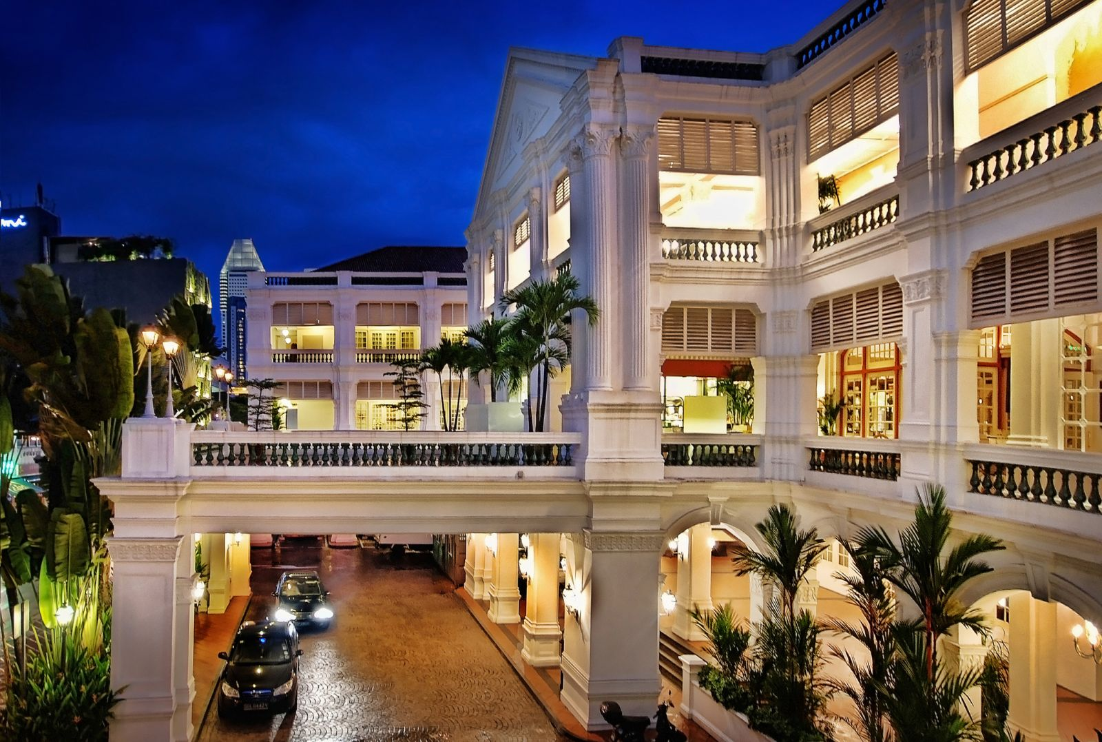هتل RAFFLES | تور سنگاپور