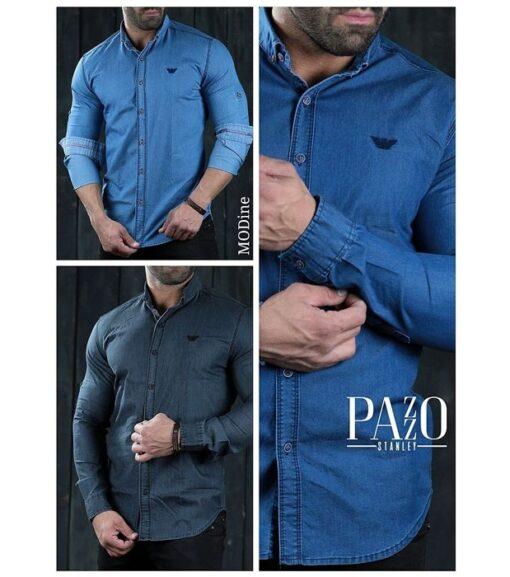 پیراهن مردانه پازو کد L-B                     غیر اصل| خرید پیراهن مردانه