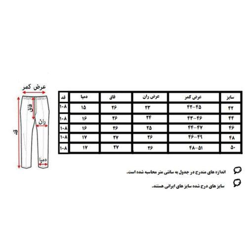 شلوار جین مردانه مدل 203md1                             | خرید پیراهن مردانه